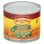 Old El Paso Chopped Green Chilies