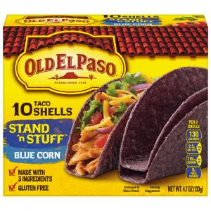 Old El Paso Blue Corn Taco Shells