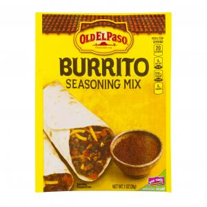 Old El Paso Burrito Seasoning