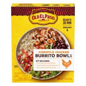 Old El Paso Chipotle Chicken Burrito Bowl