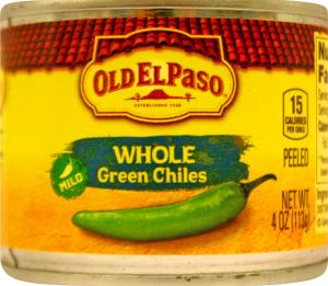 Old El Paso Whole Green Chilies