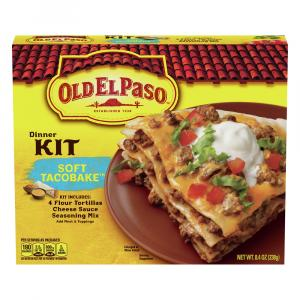 Old El Paso Soft Tacobake Dinner Kit