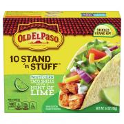 Old El Paso Stand 'n Stuff Lime Taco Shells