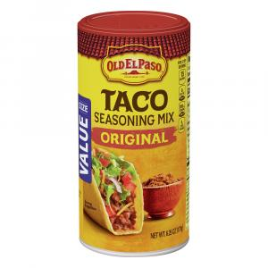 Old El Paso Taco Seasoning Canister