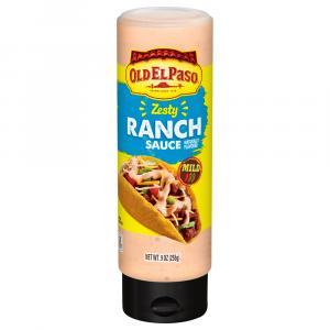 Old El Paso Zesty Ranch Taco Sauce