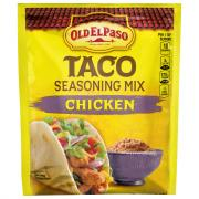 Old El Paso Taco Seasoning Mix Chicken