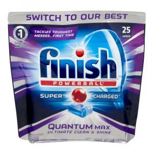 Finish Powerball Quantum Max Shine & Protect Capsules