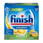 Finish Orange Gelpacs Dish Detergent