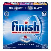 Finish Power Ball Deep Clean Dishwasher Detergent Tabs