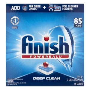 Finish Power Ball Fresh Scent Dishwasher Detergent Tablets