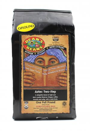 Dean's Beans Organic Aztec Two Step Coffee