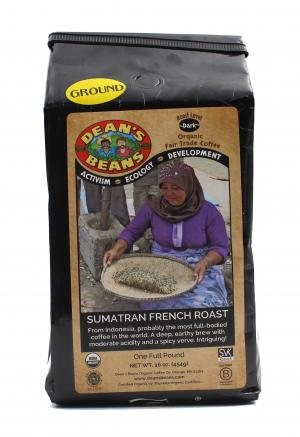 Dean's Beans Organic Sumatran French Roast Coffee