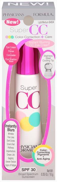 Physicians Formula Super CC Clear Correct SPF30 Light