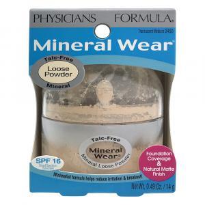 Physicians Formula Mineral Wear Powder Translucent Medium