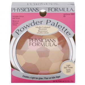 Physicians Formula Powder Palette Lt Bronzr