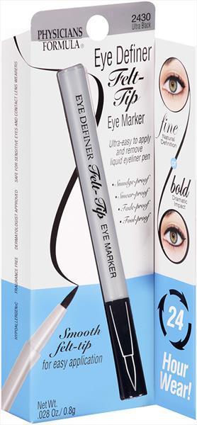 Physicians Formula Eye Felt Tip U/Black