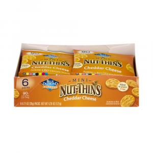 Blue Diamond Almonds Mini Nut-Thins Cheddar Cheese