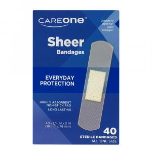 CareOne Sterile Sheer Bandages