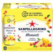San Pellegrino Sparkling Lemon & Raspberry