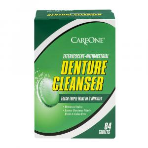 CareOne Triple Mint Denture Tablets