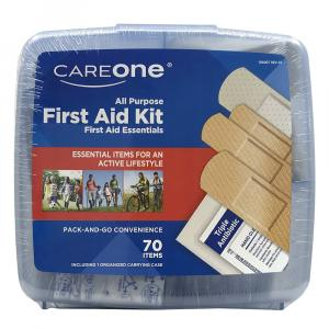 CareOne All Purpose 70-Piece First Aid Kit