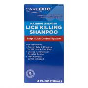 CareOne Maximum Strength Lice Killing Shampoo