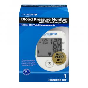 CareOne Blood Pressure Monitor with Wide-Range Cuff