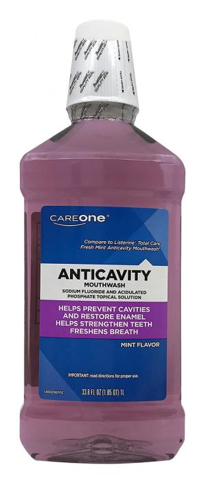 Careone Anticavity Fluoride Mouth Rinse Mint