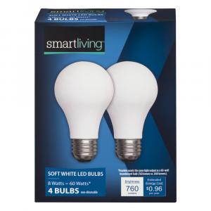 Smart Living 11w Soft White LED Bulbs