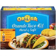 Ortega Grande Hard/Soft Taco Dinner