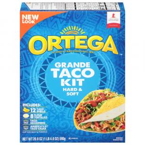 Ortega Grande Hard/Soft Taco Dinner