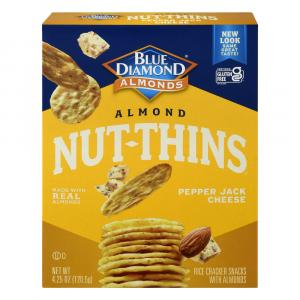 Blue Diamond Almond Pepper Jack Cheese Nut Thins