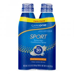 CareOne Sport Continuous Spray SPF 30 Sunscreen