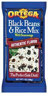 Ortega Black Beans & Rice Mix