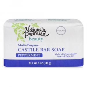 Nature's Promise Multi-Purpose Castile Peppermint Bar Soap