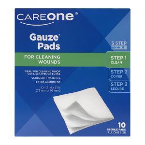 Careone Gauze Pads 3-inch X 3-inch