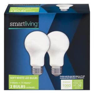 Smart Living 14-75 Watt Soft White LED Bulbs