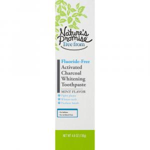 Nature's Promise Activated Charcoal Whitening Toothpaste