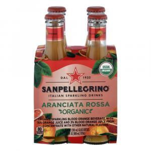 Sanpellegrino Italian Sparkling Organic Aranciata Rossa