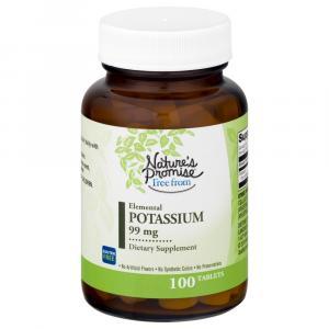 Nature's Promise Potassium 99Mg