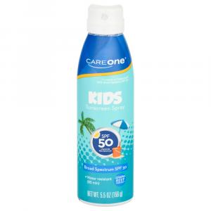 CareOne Children's Continuous Spray SPF 50 Sunscreen