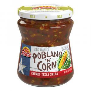 Pace Poblano 'N' Corn Medium Salsa