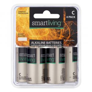 Smart Living C Alkaline Batteries