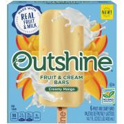Nestle Outshine Fruit & Cream Bars Creamy Mango