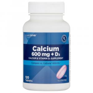CareOne Calcium 600mg +D3 Tablets