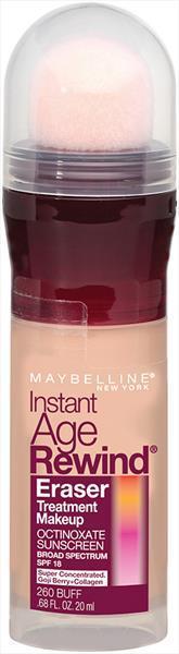 Maybelline IAR Eraser Foundation - Buff