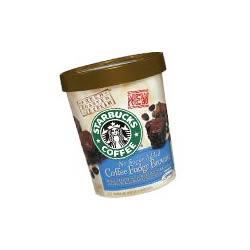 Starbucks No Sugar Added Coffee Fudge Brownie Ice Cream