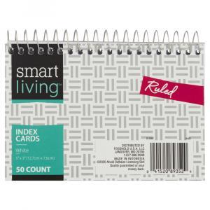 Smart Living Index Cards Ruled