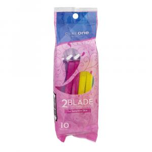 CareOne Women's Disposable Two Blade Razors