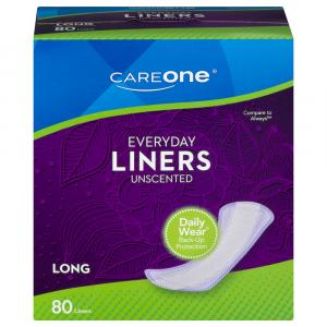 CareOne Everyday Liners Long Unscented